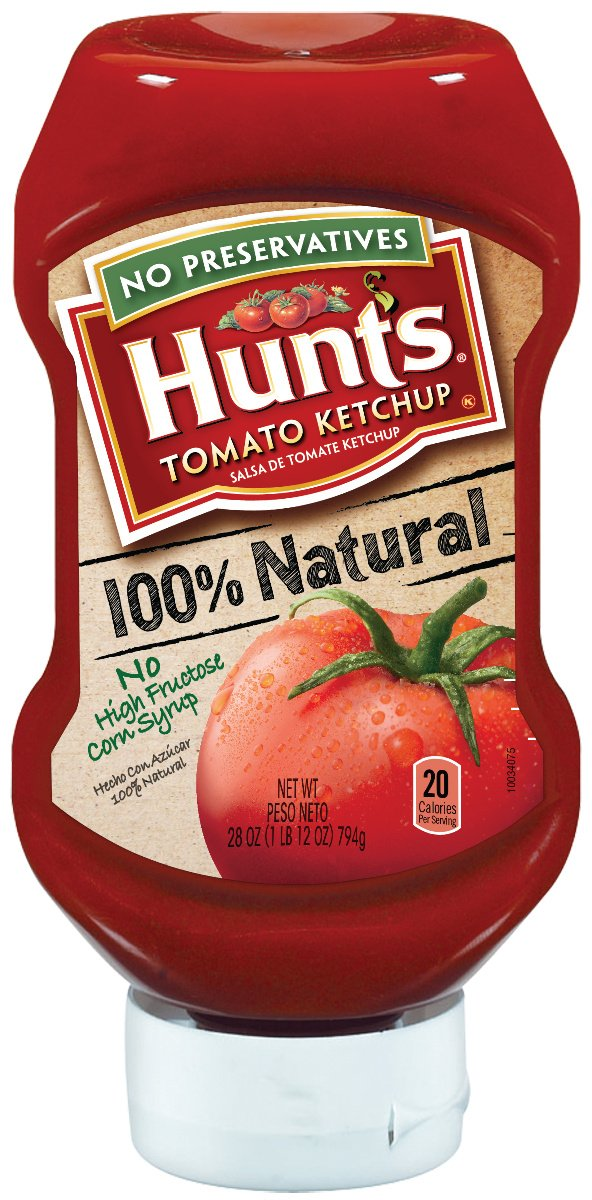 Is Hunts ketchup vegan?